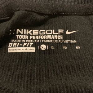 Nike Golf XL black like new! 100% polyester